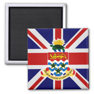 Cayman Islands High quality Flag 2 Inch Square Magnet