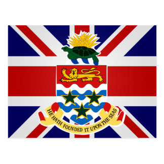Cayman Islands High quality Flag Post Cards