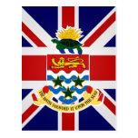Cayman Islands High quality Flag Postcards