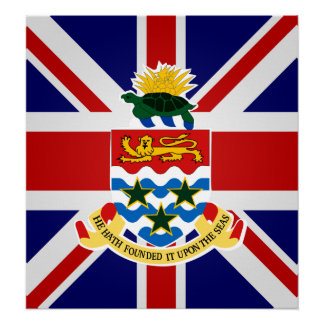 Cayman Islands High quality Flag Posters
