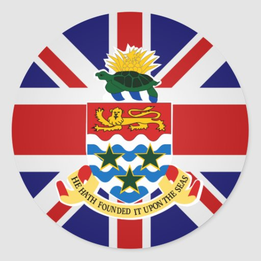 Cayman Islands High quality Flag Stickers