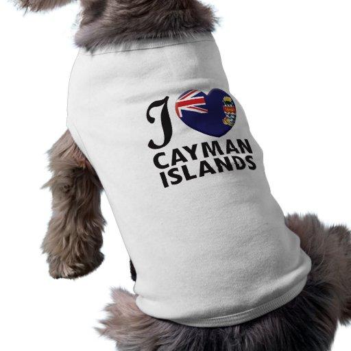 Cayman Islands Love Doggie Shirt