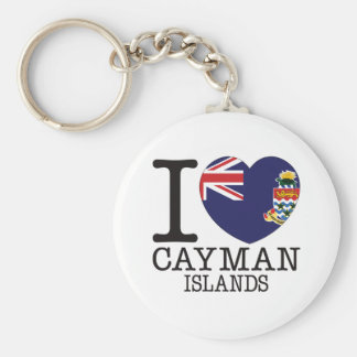 Cayman Islands Love v2 Keychains