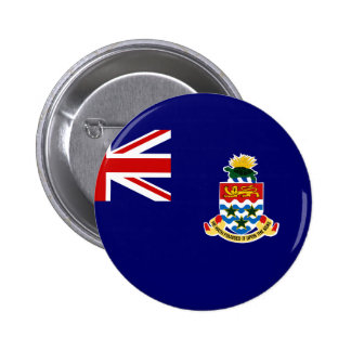 cayman islands pinback button