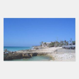 Cayman Islands Rectangular Sticker