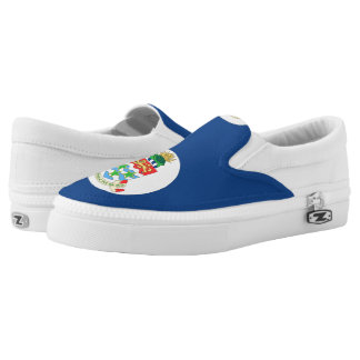 Cayman Islands Slip-On Sneakers
