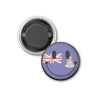 Cayman Islands Smiley Magnet