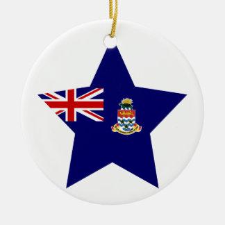 Cayman+Islands Star Ceramic Ornament