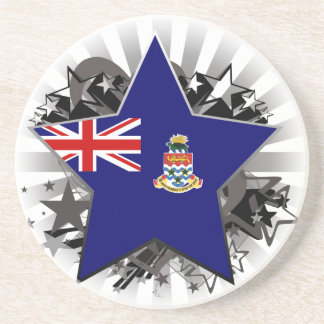 Cayman Islands Star Beverage Coasters