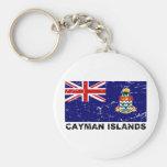 Cayman Islands Vintage Flag Key Chains