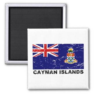 Cayman Islands Vintage Flag Refrigerator Magnet