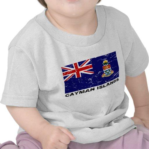 Cayman Islands Vintage Flag T Shirt