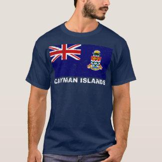 Cayman Islands Vintage Flag T-Shirt