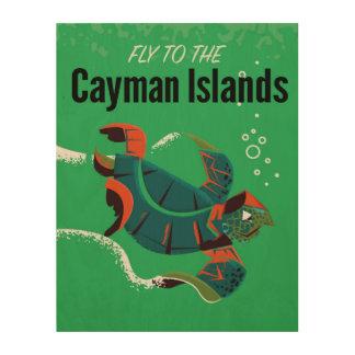 Cayman Islands vintage travel poster
