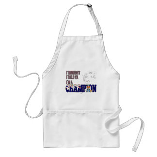 Caymanian and a Champion Adult Apron
