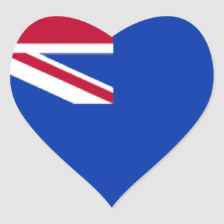 Caymans Heart Sticker