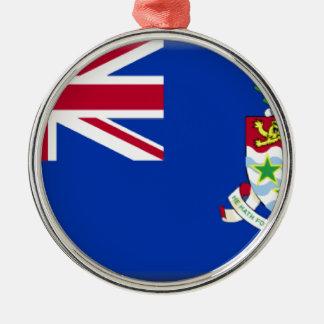 Caymans Metal Ornament
