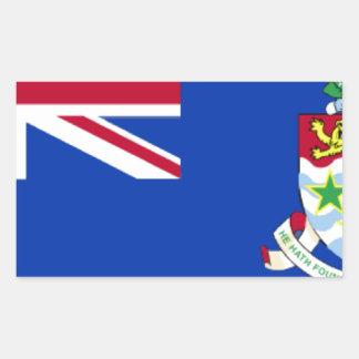 Caymans Rectangular Sticker