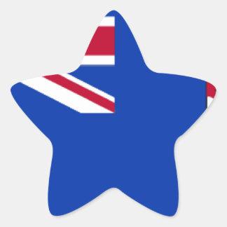 Caymans Star Sticker