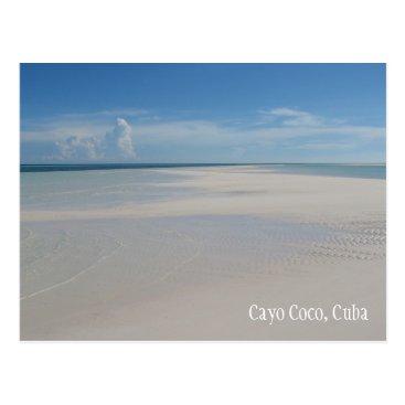 Cayo Coco Cuba Beach Postcard