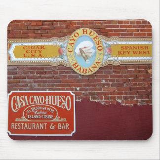 Cayo Hueso Sign Mouse Pad