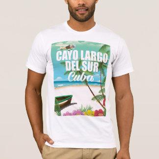 Cayo Largo del Sur beach vacation poster T-Shirt
