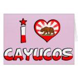 Cayucos, CA Felicitación