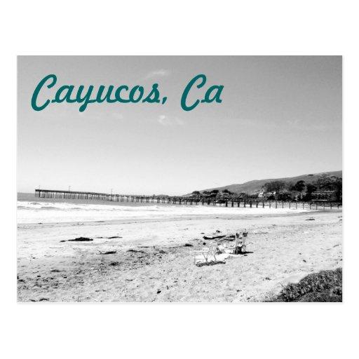 Cayucos, Ca Post Card