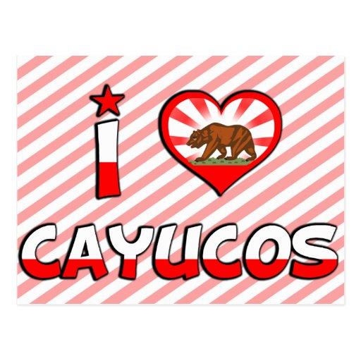 Cayucos, CA Tarjeta Postal