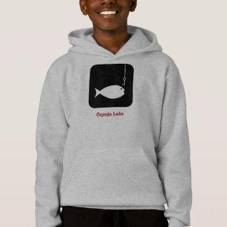 cayuga fish symbol hoodie