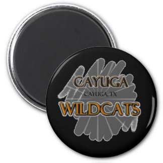 Cayuga High School Wildcats - Cayuga, TX Fridge Magnet