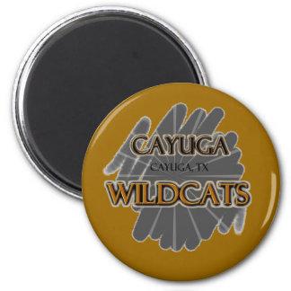 Cayuga High School Wildcats - Cayuga, TX Fridge Magnets