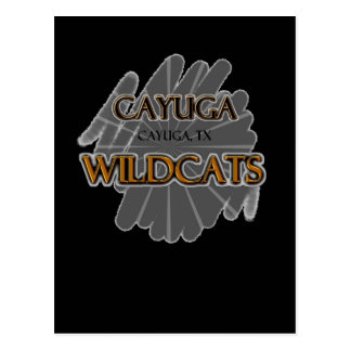 Cayuga High School Wildcats - Cayuga, TX Postcard