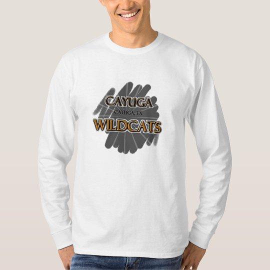 Cayuga High School Wildcats - Cayuga, TX T-Shirt