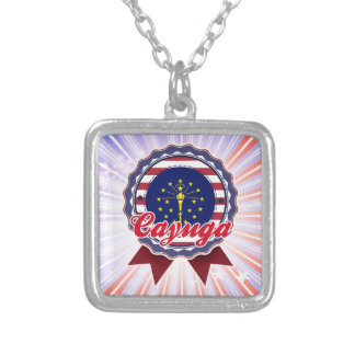 Cayuga, IN Personalized Necklace