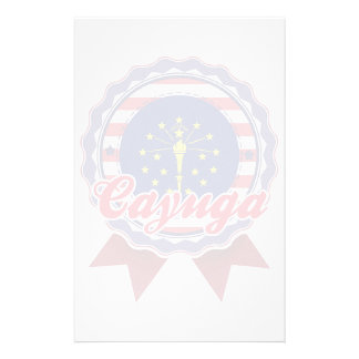 Cayuga, IN Personalized Stationery