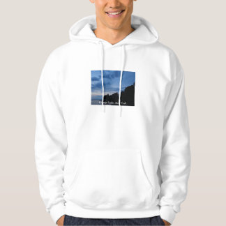 Cayuga Lake Blue Sunset Hoodie