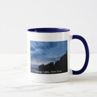 Cayuga Lake Blue Sunset Mug