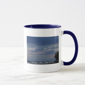 Cayuga Lake Cloudy Sky Mug