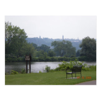 Cayuga Lake in Ithaca, New York Postcard