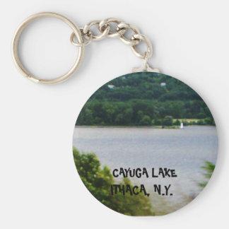 CAYUGA LAKE, ITHACA, N.Y. keychain