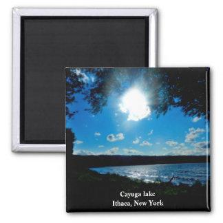 CAYUGA LAKE, ITHACA NEW YORK magnet