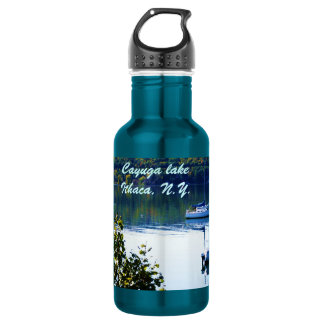 CAYUGA LAKE, ITHACA water jug 18oz Water Bottle