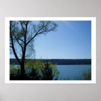 CAYUGA LAKE, LARGEST FINGER LAKE poster