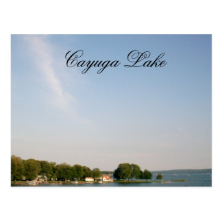 CAYUGA LAKE, NEW YORK STATE postcard