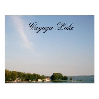 CAYUGA LAKE, NEW YORK STATE postcard