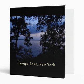 Cayuga Lake NY Sunset Binder