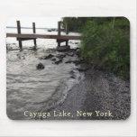 Cayuga Lake Rocky Beach Mouse Pads