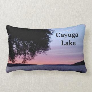 CAYUGA LAKE SETTING SUN PILLOWS