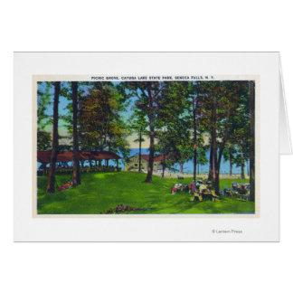Cayuga Lake State Park Scene Card